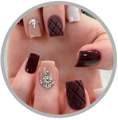 Extensión de uñas